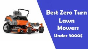 best zero turn lawn mower under $3000